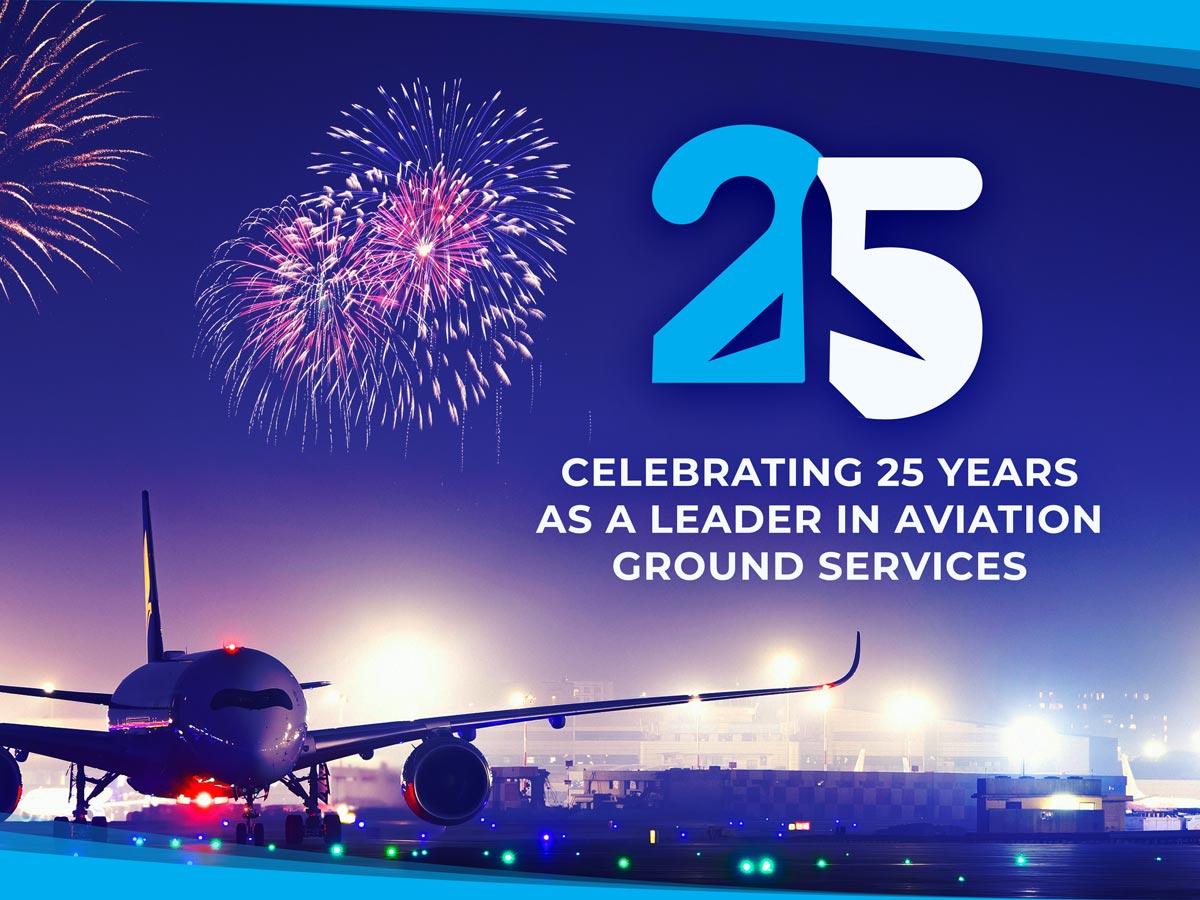 Jetstream Ground Services celebrates 25 years of service