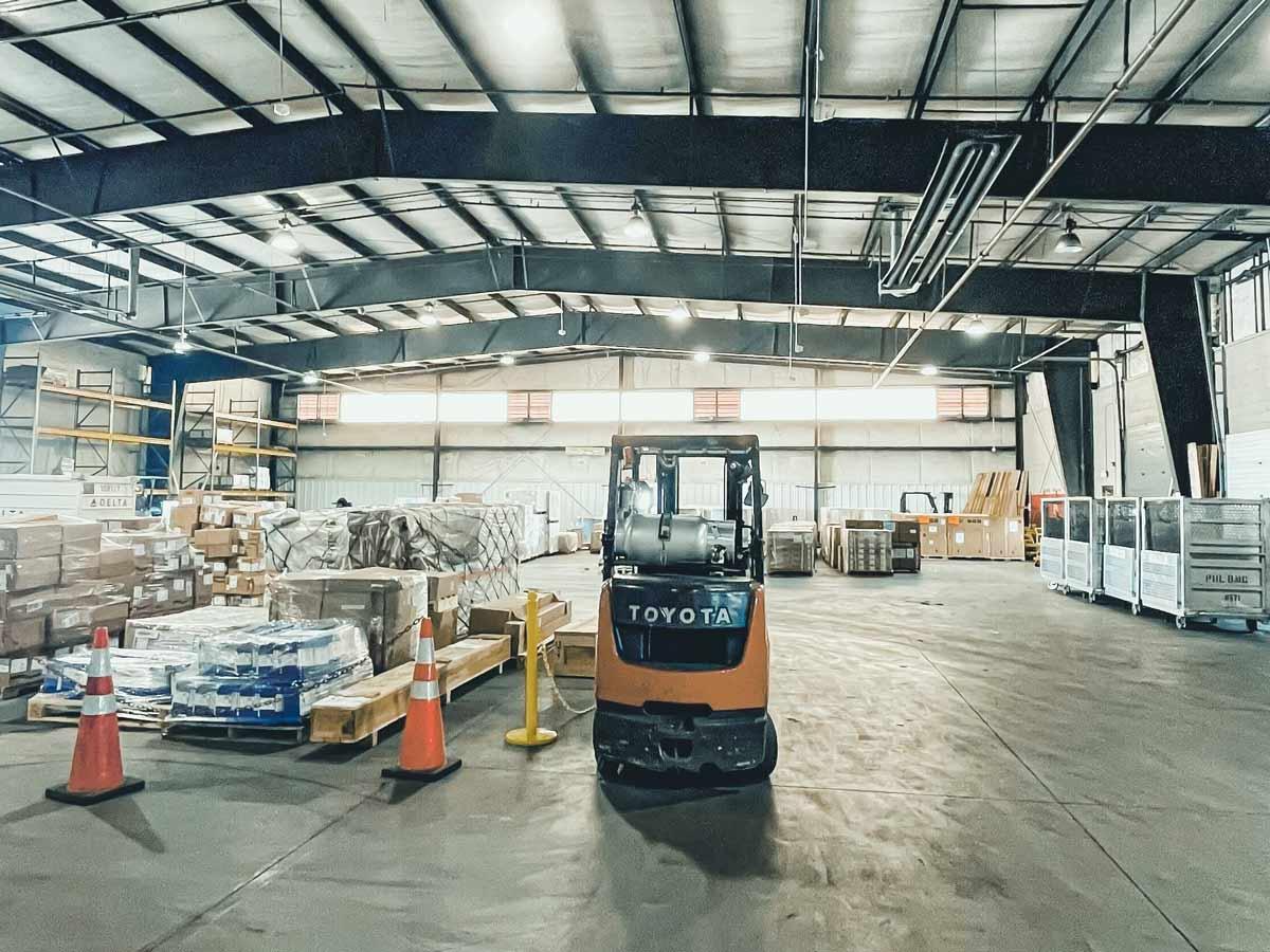 Jetstream Ground Services cargo warehouse management